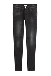 Closed Pedal Star Skinny Jeans Black