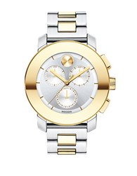 Movado 3600357 Two Tone Stainless Steel Bracelet Chronograph