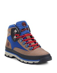 Timberland Euro Hiker Lace Up Ankle Boots Light Brown