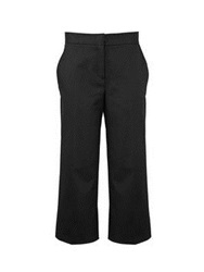 Won Hundred Maria Cropped Trousers Black