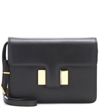 Tom Ford Sienna Medium Leather Shoulder Bag Black