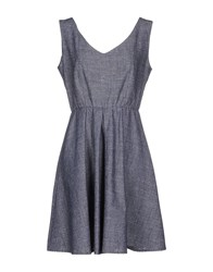La Fee Maraboutee Dresses Short Dresses Women Slate Blue