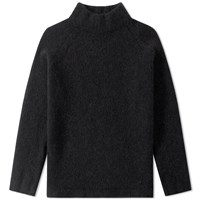 Our Legacy Turtle Neck Raglan Knit Black