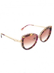 Wildfox Brown Chaton Sunglasses