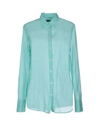 Fred Perry Shirts Shirts Women Light Green