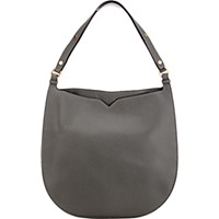 Valextra Women's Weekend Large Hobo Grey