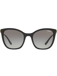 Vogue Eyewear Oversized Frame Sunglasses Black