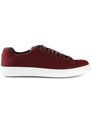 Church's Lace Up Sneakers Red