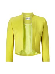 Precis Petite Jane Cropped Jacket Yellow