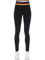 No Ka' Oi Knockout Stretch Techno Leggings Black