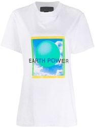 Stella Mccartney Earth T Shirt White