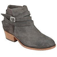 Hudson H By Horrigan Block Heeled Ankle Boots Smoke