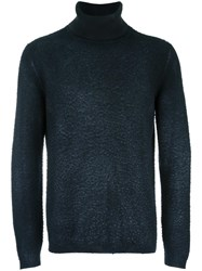 Avant Toi Roll Neck Jumper Black