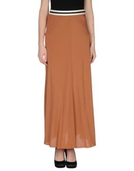 Jucca Long Skirts Brown