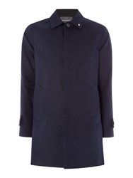Peter Werth Twyford Cotton Raincoat Dark Navy