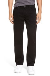 Hudson Jeans Men's 'Byron' Slim Straight Leg Jet Black