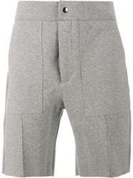 Lot 78 Lot78 Tech Sweat Shorts Grey
