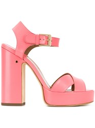 Laurence Dacade Rosan Sandals Pink And Purple
