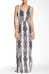 Voom By Joy Han Naomi Crochet Back Maxi Dress Black