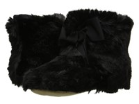 Kate Spade Fabian Black Faux Fur Women's Slippers