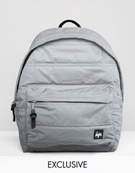 Hype Exclusive Reflective Padded Backpack Reflective Silver
