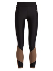 Laain Lydia Contrast Panel Performance Leggings Black Multi