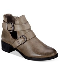 Easy Street Shoes Badge Booties Women's Granite