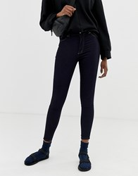 Cheap Monday High Spray Skinny Jeans Navy
