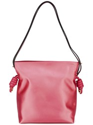 Loewe 'Flamenco' Tote Bag Pink Purple