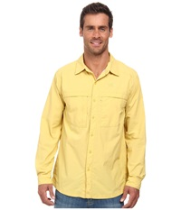 The North Face Long Sleeve Cool Horizon Shirt Misted Yellow Men's Long Sleeve Button Up
