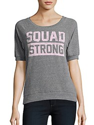 Signorelli Squad Strong Heathered Tee Grey