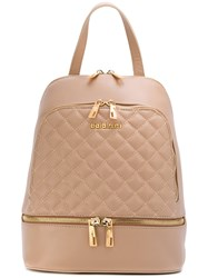 Baldinini Quilted Backpack Women Leather One Size Nude Neutrals