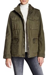 Levi's Quilted Yoke Military Jacket Green