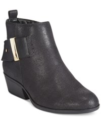 White Mountain Limerick Ankle Booties Women's Shoes Black