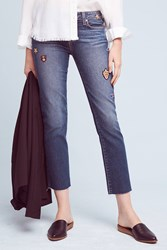 Anthropologie Paige Jacqueline High Rise Skinny Jeans Denim Medium Blue