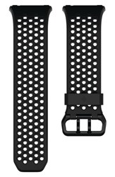 Fitbit Men's Ionic Accessory Band Black Grey
