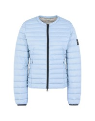 Ecoalf Down Jackets Sky Blue
