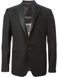 Philipp Plein 'Diamond Cut Right' Blazer Black