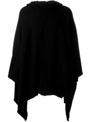Lost And Found Rooms Hooded Cape Black