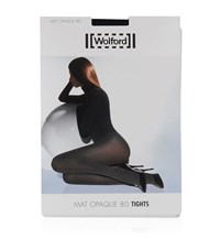Wolford Black Mat Opaque 80 Tights Female