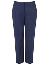 Precis Petite Sandy Compact Trousers Navy