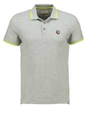 Chevignon O Sential Polo Shirt Gris Chine Clair Mottled Grey