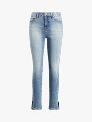 Ralph Lauren Regal Ankle Jeans Light Authentic Wash