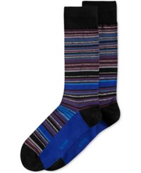 Alfani Men's Variegated Stripe Socks Only At Macy's Merlot
