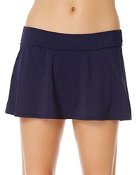 Anne Cole Classic Swim Skirtini Blue