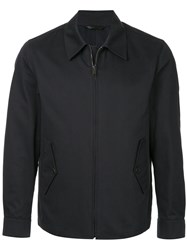 Gieves And Hawkes Lightweight Zip Jacket Black