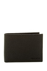 Cole Haan Slimfold Leather Wallet Black