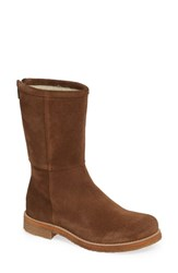 Bos. And Co. Bell Waterproof Winter Boot Tan Suede