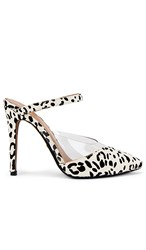 Raye Creed Heel In Black And White. Black And White