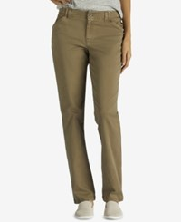Lee Platinum Tailored Chino Pants Vintage Covert Green